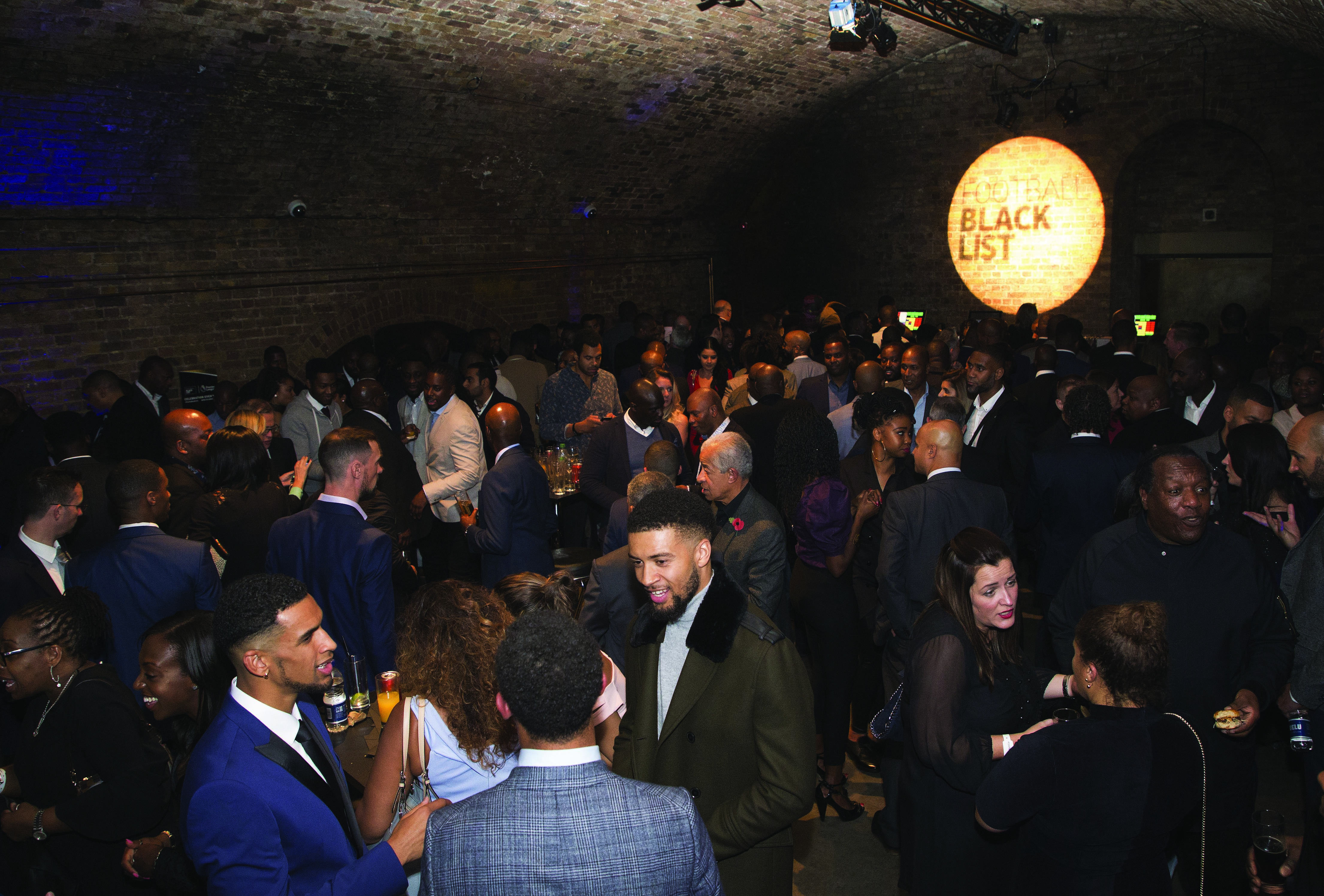 LONDON, ENGLAND - NOVEMBER 08: Guests at The Black Football List Celebration on November 8, 2017 in London, England. (Photo by Henry Browne/Getty Images for Premier League)