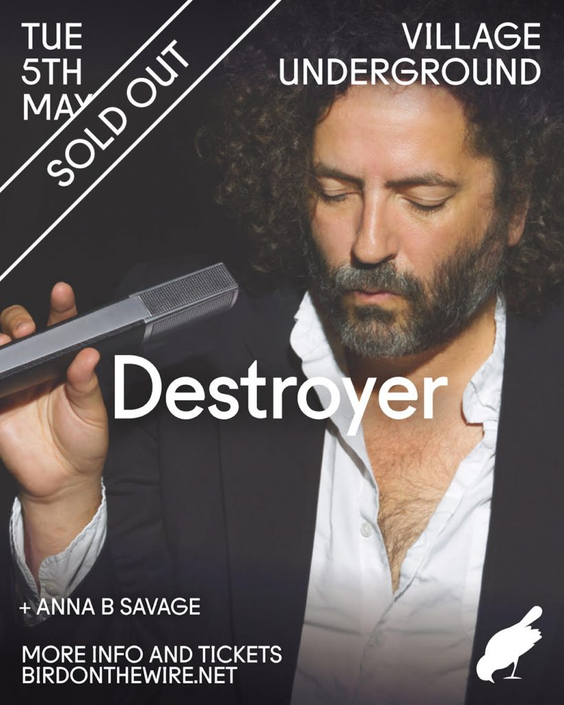 Destroyer sold out poster