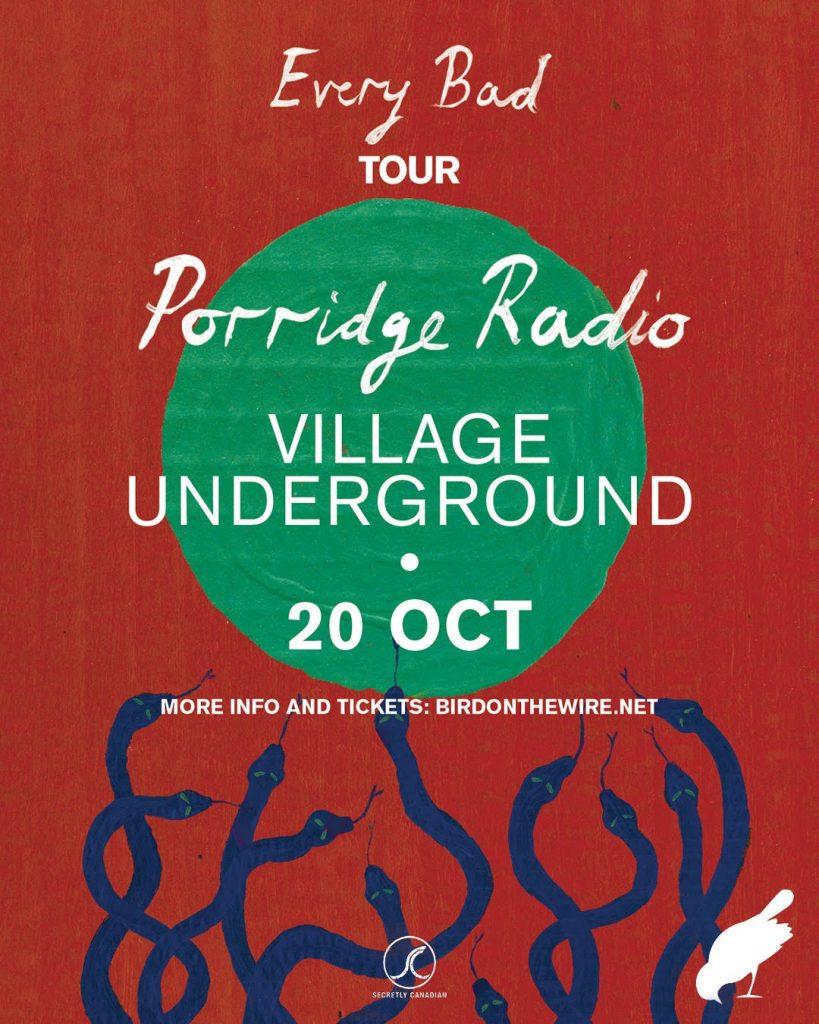 porridge radio poster